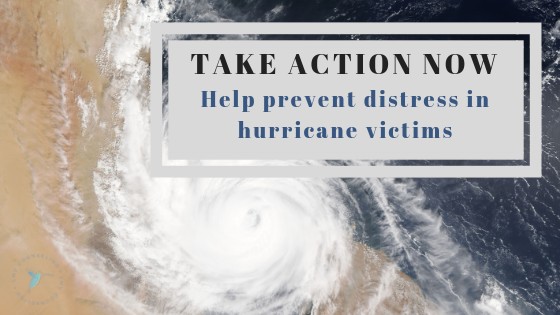 counseling hurricane florence recovery disaster mental health anxiety